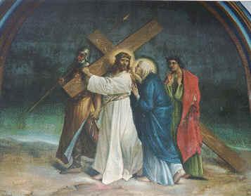 3 Jesús Encuentra a Su Santísima Madre