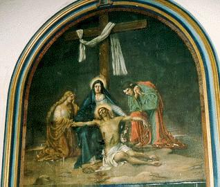 13 El Cuerpo de Jesús es Bajado de la Cruz
