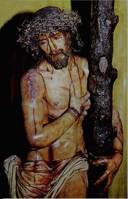 Stmo. Cristo de la Victoria Talla de Domingo de Rioja, 1630