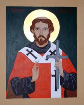 Resultado de imagen para San Tomás Becket