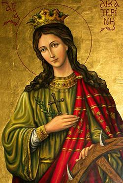 Resultado de imagen para Santa Catalina de Alejandría