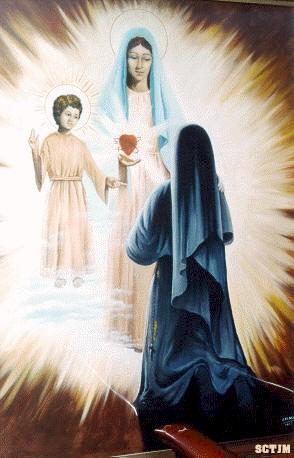 Aparición de La Virgen con el Niño