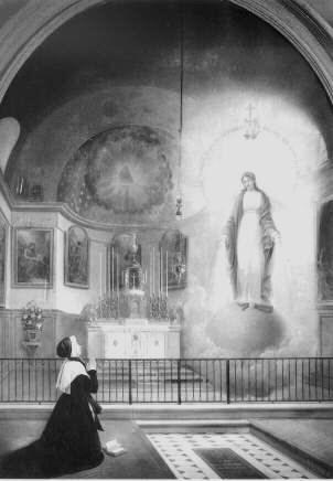 Aparición de la Virgen
