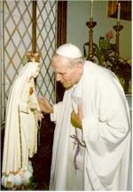 Fatima Virgen Papa