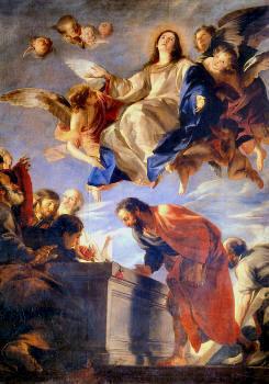Asunción de la Virgen (1663) Mateo Cerezo, Museo del Prado (Madrid)