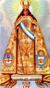 Virgen de la Merced, Argentina