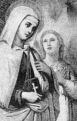 Santos de hoy, Domingo Savio, Francisca Romana Francisca_romana2