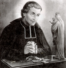 Montfort con la Virgen