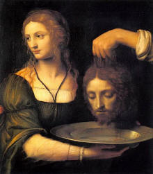 San Juan Bautista decapitao