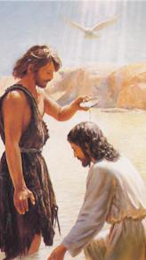 Resultado de imagen de jesus y juan el bautista
