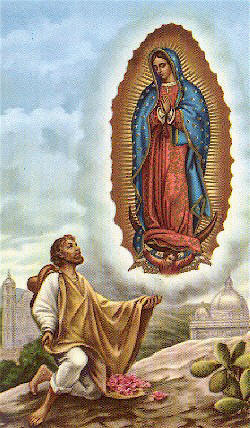 Juan Diego Cuauhtlatoatzin 1474 1548 Vidente De La Virgen De Guadalupe