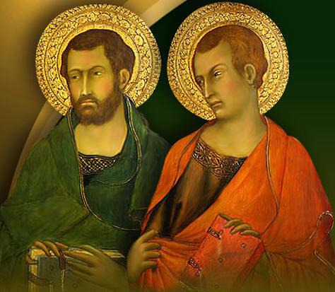 Resultado de imagen para SAN SIMÓN Y SAN JUDAS, Apóstoles