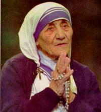 MADRE TERESA DE CALCUTA 1910-1997