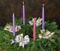 Religi n la corona de adviento - Como decorar la corona de adviento ...