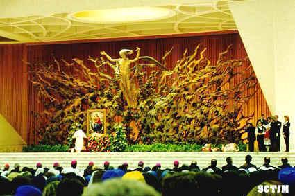Rosario con el Papa Vaticano